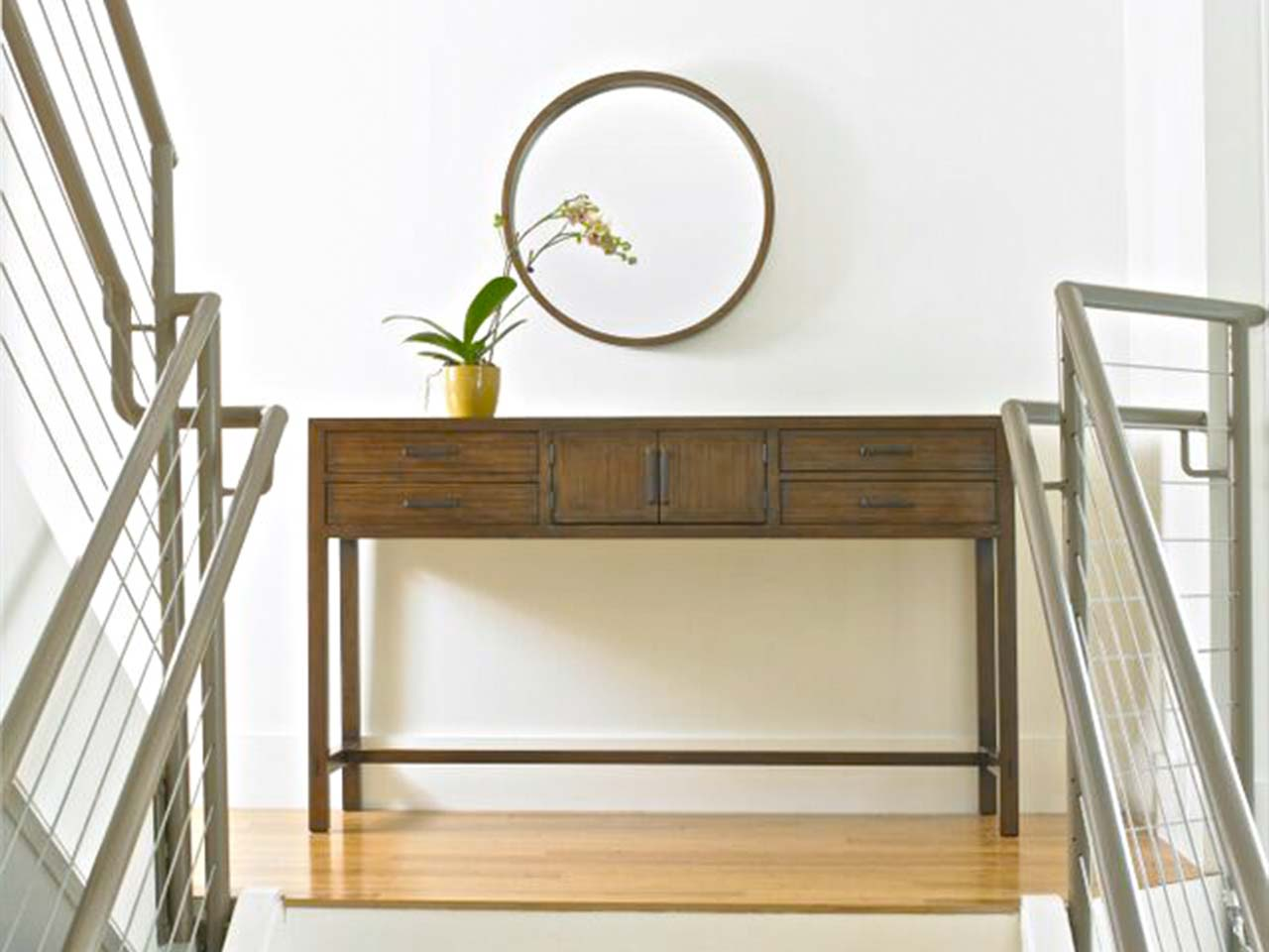 60u201d Solid WALNUT CONSOLE Can Also Be A Serving Table $2078.00 Part 37