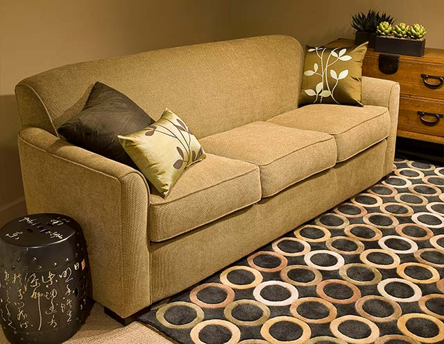 CHIANTI 84u201d Sofa With Tight Back Offers Streamline Comfort $4472