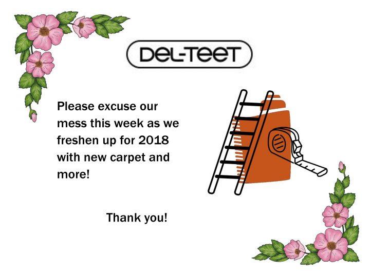 Del Teet Freshens Up!