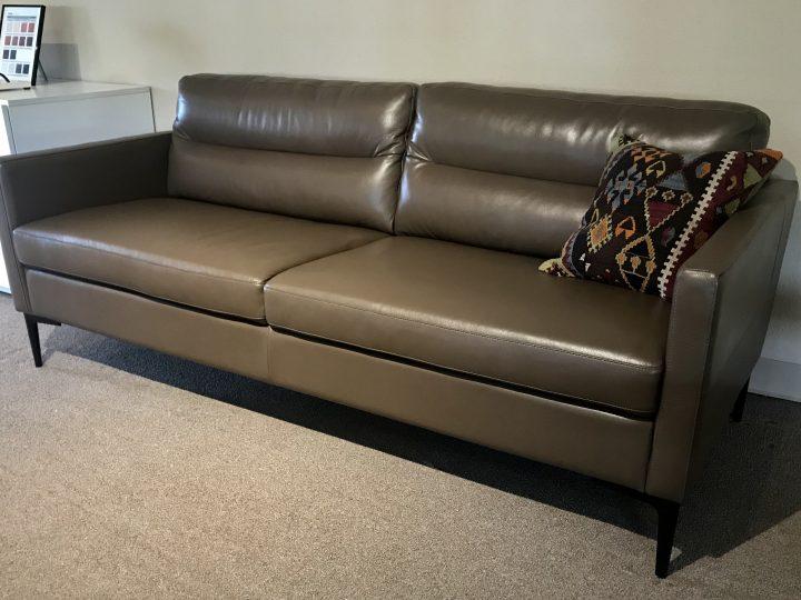 Closeout Sale – Leather Sofa
