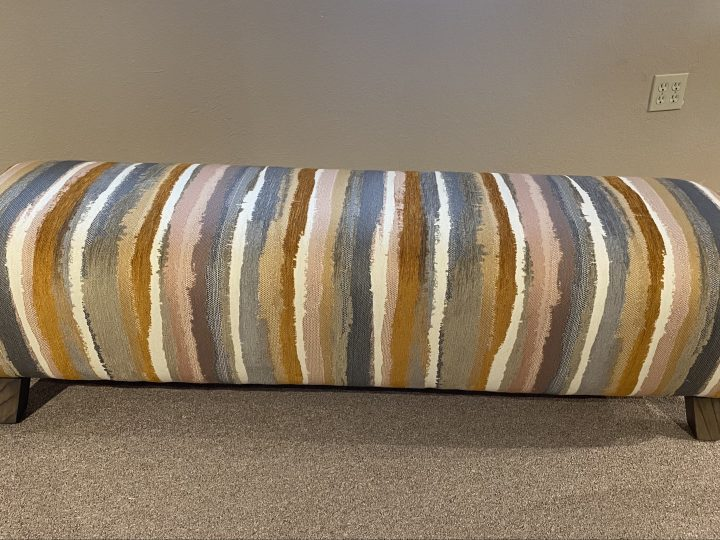 Closeout: Striped Ottoman 60×18 inches Now $899